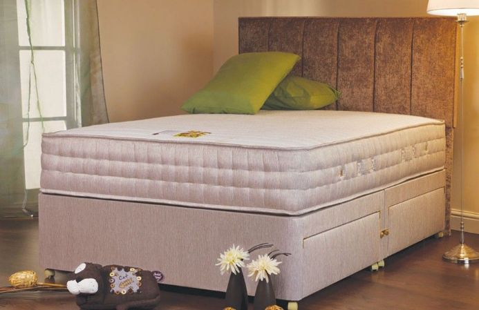 Luxury Aloe Memory 2000 120cm Divan Set